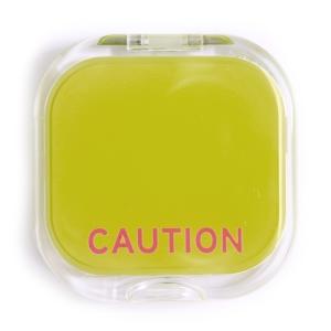 Caution Compact Mirror-0