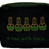 Square Embroidered Makeup Bag-1576