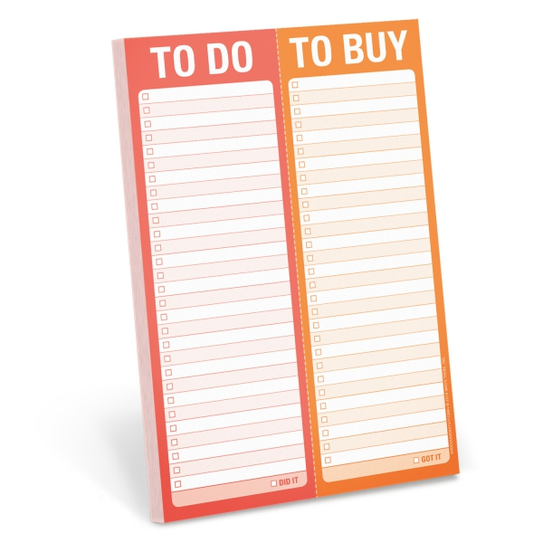 To Do, To Buy! Note Pad-0