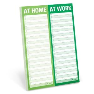 At Home / At Work Perforated Pad-0