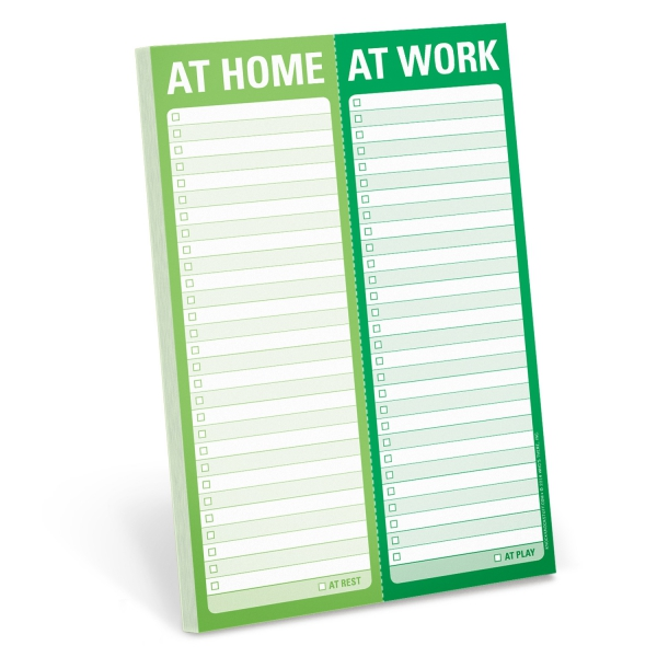 At Home / At Work Perforated Pad-0